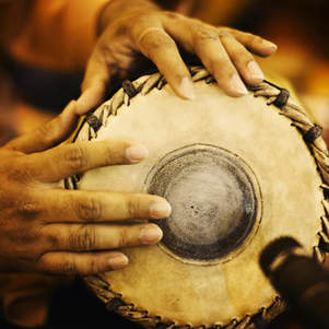 Drumming and rhythm is a core principle of vibrational therapy taught in sound healing training.